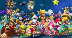 Super Mario Bros Games, Super Mario Games, Super Mario Art, Super Mario World, Arcade, Super Mario All Stars, Nightmare Before Christmas Tree, Coloring Pictures For Kids, List Of Characters