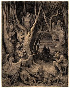 Gustave Dore' - La Commedia Divina - Illustration 35