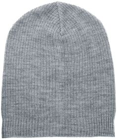 $10, Slouchy Beanie Hat by Asos. Sold by Asos. Click for more info: http://lookastic.com/men/shop_items/14794/redirect