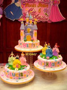 pasteles de disney | Pasteles de princesas Disney