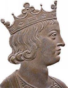 «Dagobert III roy de France» par Jean Dassier (1676-1763). Roi des Francs 711-715, prédécessur Childebert IV, successeur: Chilpéric II (Roi de Neustrie et des Burgondes) Clotaire IV (Roi francs d'Austrasie). Mérovingiens, né vers 699, mort en 715. Père: Childebert IV, Enfant: Thierry IV Il accède au trône vers l'âge de 12 ans et meurt à 16 ans. Comme il est mineur pendant son règne, Pépin de Herstal règne en son nom..