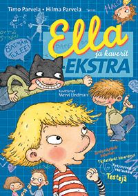 Ella ja kaverit -ekstra Princess Peach, Batman, Euro, Fictional Characters, Fantasy Characters