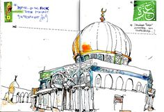 dome of the rock  by felix scheinberger, via Flickr