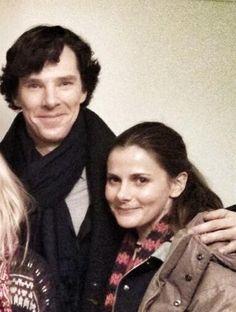 Sherlock and Molly!