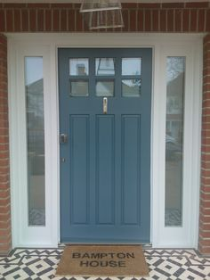 1930's front door styles - Google Search like style and colour...
