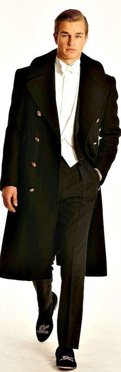 Ralph Lauren white tie