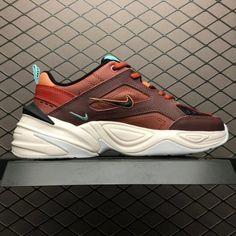 pretty nice e8028 01eb9 Nike M2K Tekno Mahogany Mink Blk Burnt Orange AO3108-200
