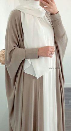 Modern Hijab Fashion, Modesty Fashion, Workwear Fashion, Abaya Fashion, Muslim Fashion, Fashion Outfits, Mode Abaya, Mode Hijab, Muslimah Clothing