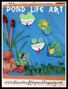 kindergarten frog - Google Search