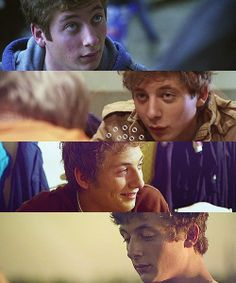 Shameless Challenge. Day 2: Overall favorite male character. -Lip Gallagher, obviously! (;