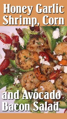 The love affair begins with the dressing, which is the key to adding unforgettable flavor. Just like a romance, it is sweet, spicy, tangy—with a jolt of garlic thrown in. Bacon Salad, Half Baked Harvest, Garlic Shrimp, Salad Recipes, Spicy, Avocado, Meat, Chicken, Affair