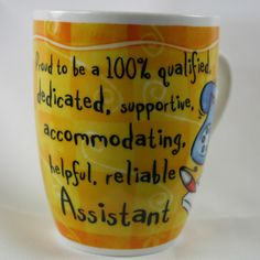 OCCUPATION MUG - ASSISTANT