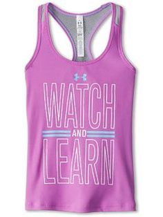 Under Armour Kids UA Watch And Learn Tank (Big Kids)