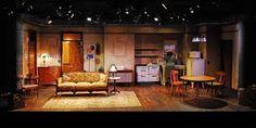 A Raisin in the Sun Set Design Theatre, Prop Design, Design Ideas, Playhouse Theatre, Interior Design Sketches, Scenic Design, Sound Design, Play Houses, Raisin