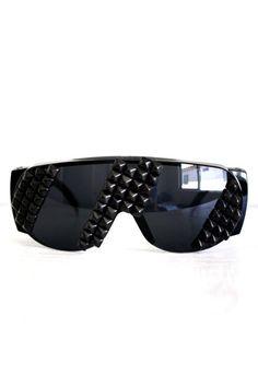 2bdfeb59d36 Vile Broccoli Fur sunglasses Festival Sunglasses