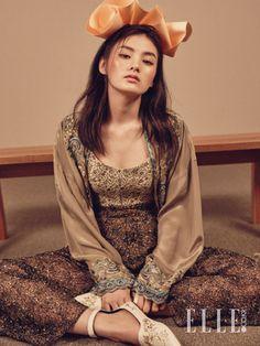 Kim Yong-ji // Elle Korea