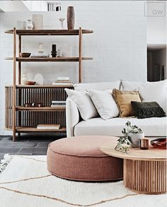 The 6 Big Design Trends Dropping in 2020 The 2020 Interior Design Trends Set to Transform your Home The post The 6 Big Design Trends Dropping in 2020 appeared first on Teppich ideen. Black Dining Chairs, Dining Table, Decoration Inspiration, Round Ottoman, Big Design, Home Trends, Home Interior, Modern Interior, Cheap Home Decor