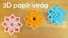 Origami, Diy And Crafts, Scrapbook, Spring, Crochet, Handmade, Home Decor, Youtube, Paper Flowers