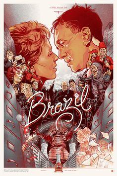 "MP403. ""Brazil"" Alternate Movie Poster by Martin Ansin 2010 (Terry Gilliam 1985) / #Movieposter"