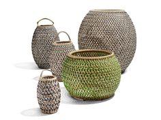 Jardinière en composite Collection Dala by Dedon   design Stephen Burks