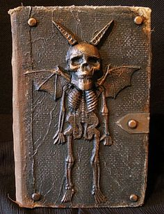 TUTORIAL: how to make this cool goblin altered book  #Halloween