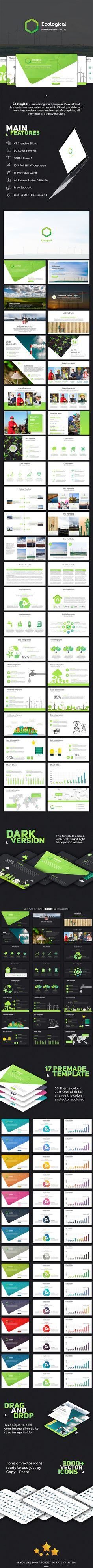 Ecological PowerPoint Template - PowerPoint Templates Presentation Templates