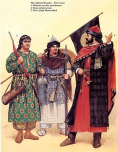 Google Image Result for http://thelosttreasurechest.files.wordpress.com/2011/05/9th-century-arab-caliph-of-the-abbasid-caliphate-with-his-bodyguard.jpg