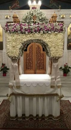 Αγία Κυριακή 2017 St Charbel, Orthodox Easter, Church Flowers, Cyprus, Ephemera, Christ, Greek, Decorating, Altars
