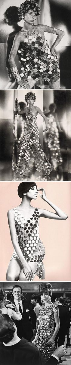 dress by Paco Rabanne 1965