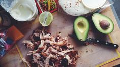 You'll want to make every night Taco Night with this recipe. Chicken Tacos, Bbq Chicken, Taco Man, Skillet Chicken, Tostadas, Chipotle, Enchiladas, I Love Food, Healthy Eating