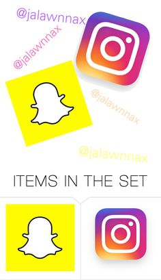 """""""Snapchat & Instagram"""" by purple2haze ❤ liked on Polyvore featuring art"""