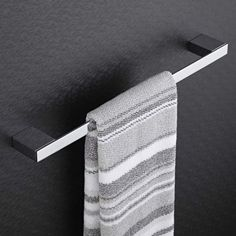 The Milano Parade towel rail will make a stylish and practical addition to your bathroom.