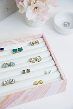 DIY Ring | Earring Organizer