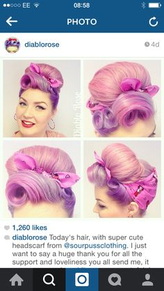 Great way to hide wet set pin curls as they dry