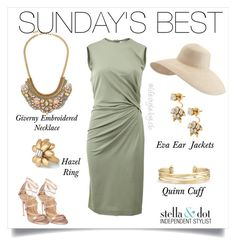 Look your best on Sunday..or any day of the week! by cathy-bartlett on Polyvore featuring polyvore, fashion, style, Givenchy, Dsquared2, Stella & Dot, Eric Javits and clothing