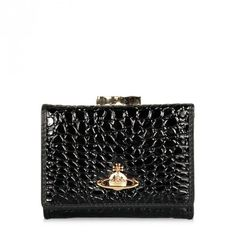 Vivienne Westwood Chancery 1311 Purse Black | GarmentQuarter