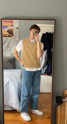 Indie Outfits, Retro Outfits, Vintage Outfits, Fashion Outfits, Indie Fashion Men, Streetwear Fashion, Stylish Mens Outfits, Cute Casual Outfits, Aesthetic Clothes
