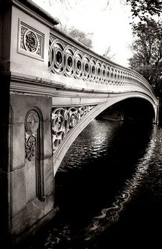 There is something calming about a bridge over water.
