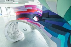 G . F Smith Paper City exhibition by various artists, Kingston upon Hull – UK » Retail Design Blog