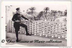 TUNISIE - GABES 1939 - LA CASERNE - PHOTO MILITAIRE 10.5 X 7 CM