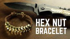 DIY projects - Hex Nut bracelet