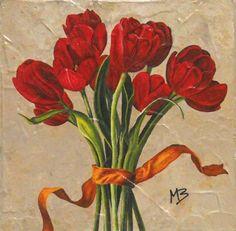 Tulipani  Copia 15x15cm