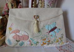 small purse - embroidery end applique