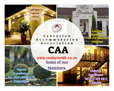 Some of our members in Centurion. Bed And Breakfast