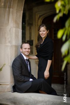 The lighting worked out so well, and couldn't have shot this with a better couple. #photography #princeton