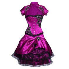 The Violet Vixen - Violet Masquerade Corset Dress, $259.00 (http://thevioletvixen.com/clothing/corset-dresses/violet-masquerade-corset-dress/)