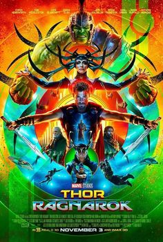 M.A.A.C. – Poster For MARVEL'S THOR: RAGNAROK Starring CHRIS HEMSWORTH. UPDATE: Comic-Con Trailer