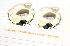 Harry Potter A5 Stationery Notepad 24 sheets by LaPapierre