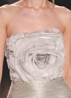 parischiccouture:    Badgley Mischka Spring 2013 Rose Dress