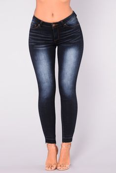 d4a14fe9e89 Watch Out For This Jeans - Dark Wash